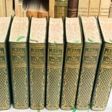 Libros de segunda mano: OBRAS COMPLETAS DE SERAFÍN Y JOAQUÍN ÁLVAREZ QUINTERO - ESPASA CALPE TIPO AGUILAR - 7 TOMOS TEATRO. Lote 254817395