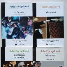 Libros de segunda mano: RAFAEL SPREGELBURD: HEPTALOGÍA DE HIERONYMUS BOSCH. 7 OBRAS EN 4 VOLÚMENES. JORGE DUBATTI. Lote 289744133