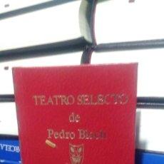 Libros de segunda mano: TEATRO SELECTO DE PEDRO BLOCH, ED. ESCELICER. Lote 289876413