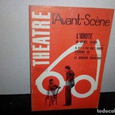 Libros de segunda mano: 39- REVISTA FRANCESA DE TEATRO, L'AVANT-SCENE NO. 244 - 1961. Lote 293983498
