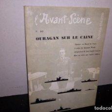 Libros de segunda mano: 39- ANTIGUA REVISTA DE TEATRO , L'AVANT-SCENE , 165, JULIO 1957. Lote 293983563
