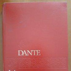 Libros de segunda mano: DANTE LA DIVINA COMEDIA - EDITORIAL MATEU - 1965. Lote 294038063