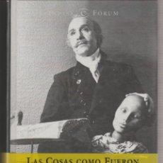 Libros de segunda mano: LAS COSAS COMO FUERON MEMORIAS. FRANCISCO NIEVA. Lote 295789953