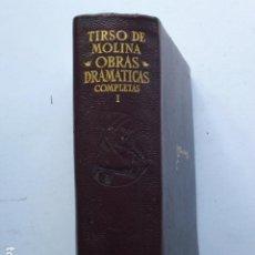 Libros de segunda mano: OBRAS COMPLETAS. TOMO II. TIRSO DE MOLINA (ED. AGUILAR).. Lote 295862223