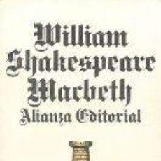 Libros de segunda mano: MACBETH - WILLIAM SHAKESPEARE. Lote 297091628