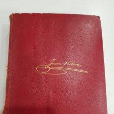 Libros de segunda mano: JUAN VALERA. OBRAS COMPLETAS I. EDICIONES AGUILAR. CUARTA EDICION. 1958. Lote 297114188