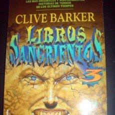 Libros de segunda mano: LIBROS SANGRIENTOS 3 MARTINEZ ROCA SUPER TERROR. MUY DIFICIL. Lote 9184196