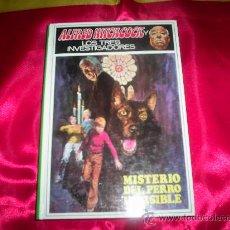 Libros de segunda mano: ALFRED HITCHCOCK Y LOS TRES INVESTIGADORES Nº 23 , MISTERIO DEL PERRO INVISIBLE , MOLINO . . Lote 26716607