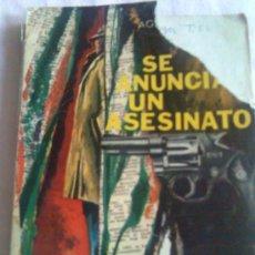 Libros de segunda mano: UNA DE REGALO, POLICIACA DE SIMENON, LAS NOVELAS DE MAIGRET Nº 74 -AÑO 1972 (CON AGATHA CHRISTIE). Lote 170058970