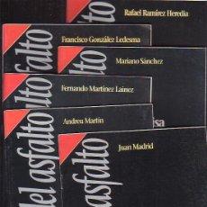 Libros de segunda mano: CUADERNOS DEL ASFALTO -COLECCION COMPLETA DE 13 FASCICULOS ( NOVELA NEGRA )SELECCION DE JUAN MADRID. Lote 13676832