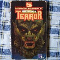 Libros de segunda mano: BIBLIOTECA UNIVERSAL DE MISTERIO Y TERROR Nº 4 EDICIONES UVE. Lote 13772565