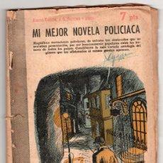 Libros de segunda mano: REVISTA LITERARIA NOVELAS Y CUENTOS Nº1347.MI MEJOR NOVELA POLICIACA POR AGATHA CHRISTIE.MADRID 1957. Lote 14526241