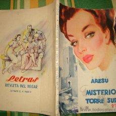 Libros de segunda mano: COLECCIÓN ROCIO-Nº 135 DE MARIO ARESU- EL MISTERIO DE LA TORRE DEL SUR-AÑOS 40--50. Lote 16216981