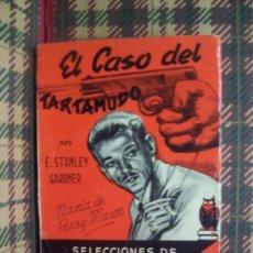Libros de segunda mano: E.STANLEY GARDNER - 1954 - EL CASO DEL TARTAMUDO / PERRY MASON - MOLINO. Lote 20388162