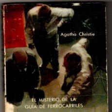 Libros de segunda mano: SELECCIONES DE BIBLIOTECA ORO Nº 144 - AGATHA CHRISTIE - EL MISTERIO DE LA GUÍA DE FERROCARRILES. Lote 206494763