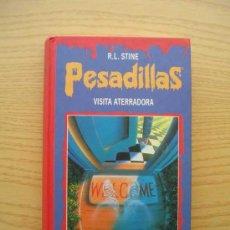 Libros de segunda mano: PESADILLAS - VISITA ATERRADORA - LA MASCARA MALDITA - R. L. STINE - CIRCULO DE LECTORES. Lote 25736025