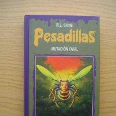 Libros de segunda mano: PESADILLAS - MUTACION FATAL - SANGRE DE MONSTRUO II - R. L. STINE - CIRCULO DE LECTORES. Lote 25709170
