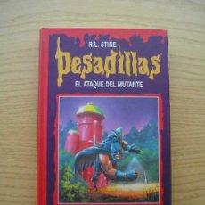 Libros de segunda mano: PESADILLAS - EL ATAQUE DEL MUTANTE - AVENTURA ESPELUZNANTE - R. L. STINE - CIRCULO DE LECTORES. Lote 25709171