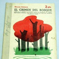 Libros de segunda mano: REVISTA LITERARIA NOVELAS Y CUENTOS EL CRIMEN DEL BOSQUE WILLIAM BUSNACH Nº 883 11 ABRIL 1948 . Lote 18992349