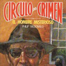 Libros de segunda mano: CÍRCULO DEL CRIMEN, EL HOMBRE MISTERIOSO, Nº 54, PHILIP MCDONALD, EDICIONES FORUM. Lote 21229508