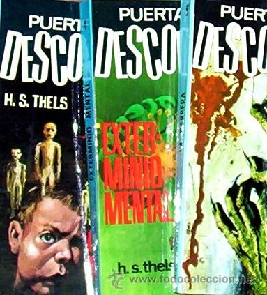 COLECCION PUERTA A LO DESCONOCIDO - NUM 4 - EDIT. FERMA 1967 (Libros de segunda mano (posteriores a 1936) - Literatura - Narrativa - Terror, Misterio y Policíaco)