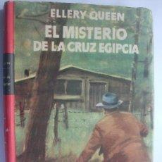 Libros de segunda mano: LIBRO EDITORIAL PLANETA COLECCION BUHO-SELECCION CRIME CLUB EL MISTERIO DE LA CRUZ EGIPCIA. Lote 25760840