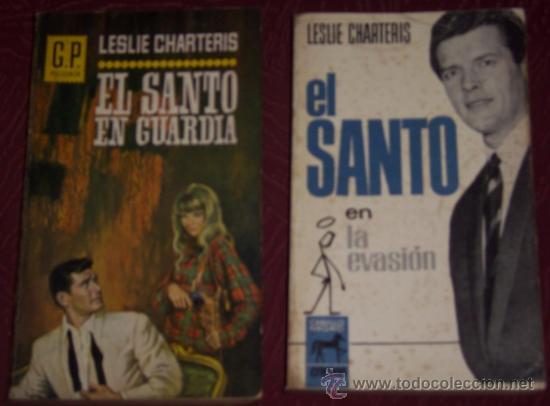 LOTE DE DOS NOVELAS DE EL SANTO POR LESLIE CHARTERIS EN BARCELONA 1965 (VER DESCRIPCIONES) (Libros de segunda mano (posteriores a 1936) - Literatura - Narrativa - Terror, Misterio y Policíaco)