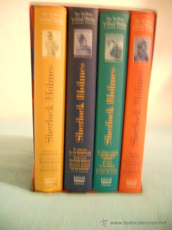 OBRA COMPLETA DE SHERLOCK HOLMES (EDITORIAL OPTIMA) (Libros de segunda mano (posteriores a 1936) - Literatura - Narrativa - Terror, Misterio y Policíaco)