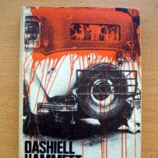 Libros de segunda mano: LIBRO DE DASHIELL HAMMET, COSECHA ROJA, ALIANZA EDITORIAL 1980 DE BOLSILLO. Lote 27719975