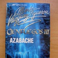 Libros de segunda mano: LIBRO DE ALBERTO VAZQUEZ FIGUEROA, AZABACHE 1991 LOS JET DE PLAZA & JANÉS CIENGUEGOS III NUEVO. Lote 27720029