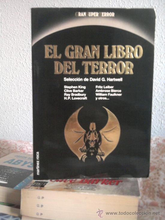 EL GRAN LIBRO DEL TERROR - MARTÍNEZ ROCA - GRAN SUPER TERROR (Libros de segunda mano (posteriores a 1936) - Literatura - Narrativa - Terror, Misterio y Policíaco)