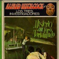 Libros de segunda mano: ALFRED HITCHCOCK - LOS TRES INVESTIGADORES Nº 2 - MISTERIO DEL LORO TARTAMUDO - ED. MOLINO. Lote 27874446