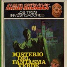 Libros de segunda mano: ALFRED HITCHCOCK - LOS TRES INVESTIGADORES Nº 4 - MISTERIO DEL FANTASMA VERDE - ED. MOLINO. Lote 27874469