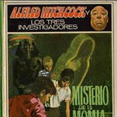 Libros de segunda mano: ALFRED HITCHCOCK - LOS TRES INVESTIGADORES Nº 3 - MISTERIO DE LA MOMIA - ED. MOLINO. Lote 27874498