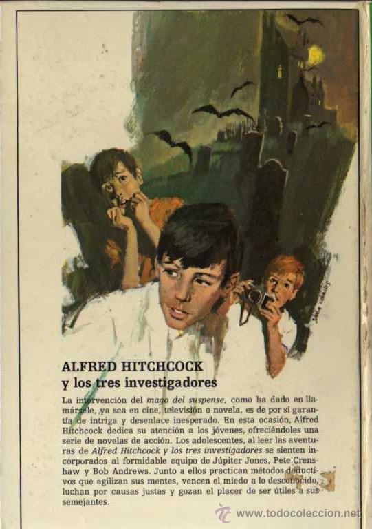 Libros de segunda mano: ALFRED HITCHCOCK - LOS TRES INVESTIGADORES Nº 3 - MISTERIO DE LA MOMIA - ED. MOLINO - Foto 2 - 27874498