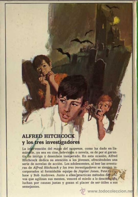 Libros de segunda mano: ALFRED HITCHCOCK - LOS TRES INVESTIGADORES Nº 4 - MISTERIO DEL FANTASMA VERDE - ED. MOLINO - Foto 2 - 27874469