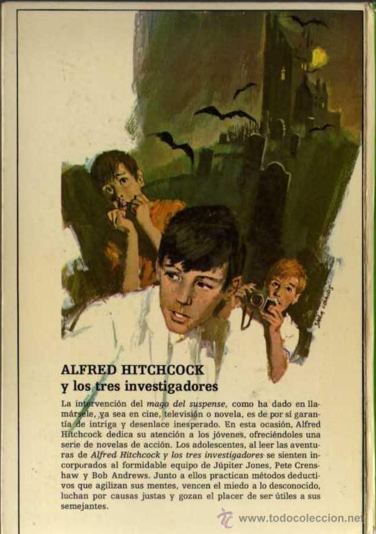 Libros de segunda mano: ALFRED HITCHCOCK - LOS TRES INVESTIGADORES Nº 2 - MISTERIO DEL LORO TARTAMUDO - ED. MOLINO - Foto 2 - 27874446