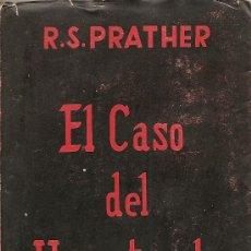 Libros de segunda mano: EL CASO DEL HIPNOTIZADOR DE R. S. PRATHER. Lote 27936149