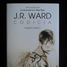 Libros de segunda mano: ANGELES CAIDOS. CODICIA. J.R. WARD. ED. SUMA. 2011 597 PAG. Lote 28871680