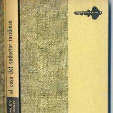 Libros de segunda mano: E. STANLEY GARDNER : PERRY MASON Y EL CASO DEL SEDUCTOR INSIDIOSO (1961). Lote 28878371