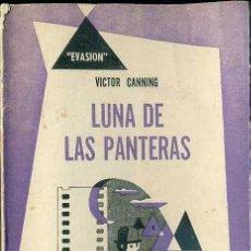 Libros de segunda mano: VICTOR CANNING : LUNA DE LAS PANTERAS (HACHETTE, 1951) TRADUCCIÓN DE RODOLFO WALSH. Lote 29117638