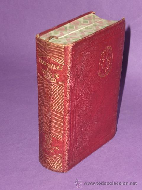NOVELAS DE MISTERIO DE EDGAR WALLACE. TOMO II. (19469 (Libros de segunda mano (posteriores a 1936) - Literatura - Narrativa - Terror, Misterio y Policíaco)