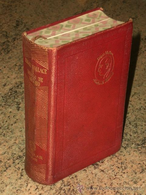 Libros de segunda mano: NOVELAS DE MISTERIO DE EDGAR WALLACE. TOMO II. (19469 - Foto 2 - 29356087