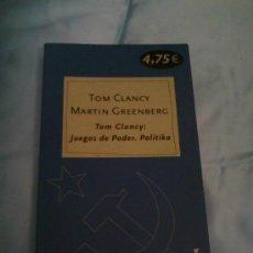 Libros de segunda mano - Tom Clancy: Juegos de Poder. Politika. - 106942732
