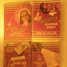 Libros de segunda mano: ED. MOLINO. BIBLIOTECA DE ORO DE BOLSILLO. Nº 25, 36, 63 Y 70. 1951-1954.. Lote 29672029