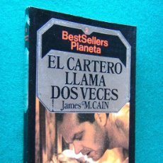 Libros de segunda mano: EL CARTERO LLAMA DOS VECES - NOVELA NEGRA POLICIACA - JAMES M. CAIN - PLANETA BRUGUERA - 1984. Lote 287647943