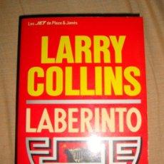 Libros de segunda mano: LIBRO DE LARRY COLLINS LABERINTO 1991 DE PLAZA Y JANÉS, LOS JET. Lote 31851050