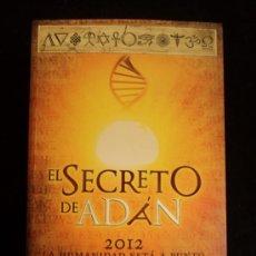 Libros de segunda mano: EL SECRETO DE ADAN. GUILLERMO FERRARA. ED. SUMA. 2012 510 PAG. Lote 32149581