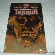 Libros de segunda mano: 4 BIBLIOTECA UNIVERSAL DE MISTERIO Y TERROR - VARIOS AUTORES. Lote 32597110