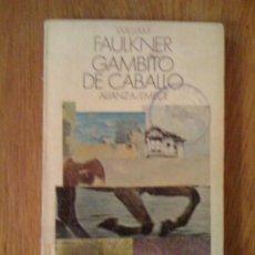 Libros de segunda mano: GAMBITO DE CABALLO, DE WILLIAM FAULKNER. SEIS CASOS DEL FISCAL GAVIN STEVENS. ALIANZA / EMECÉ, 1972. Lote 32764973